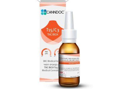 שמן קנדוק THC T15/C3