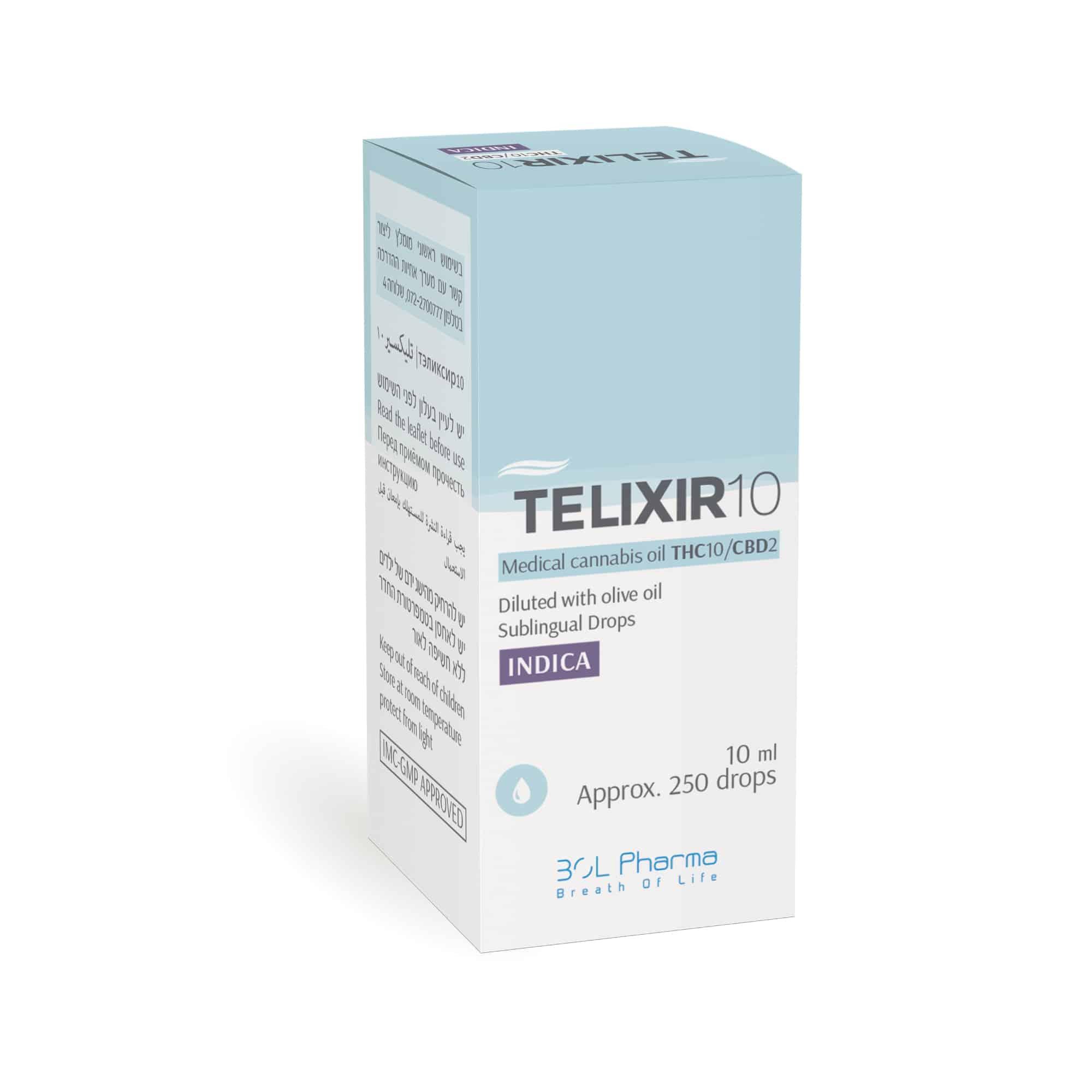שמן טליקסיר 10 אינדיקה T10/C2