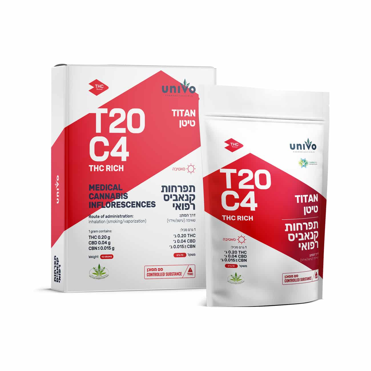 תפרחת טיטאן T20/C4