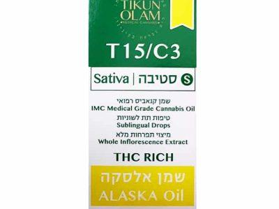 שמן אלסקה 15% T15/C3