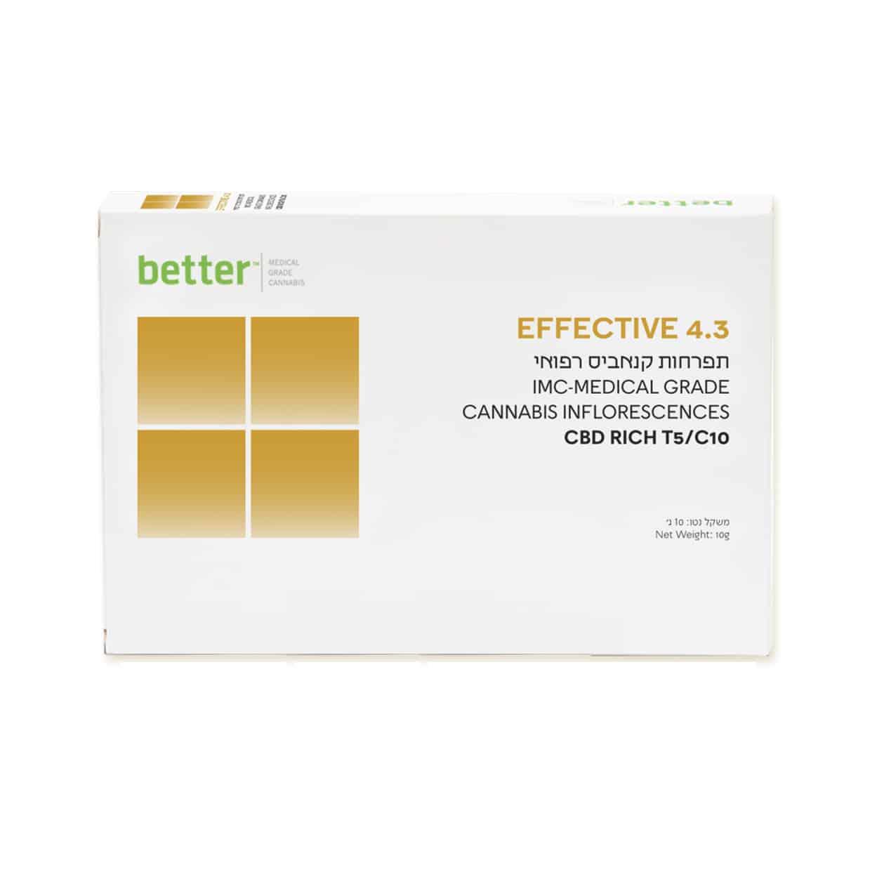 תפרחת EFFECTIVE 4.3 T5/C10