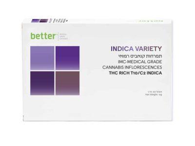 תפרחת INDICA VARIETY T10/C10