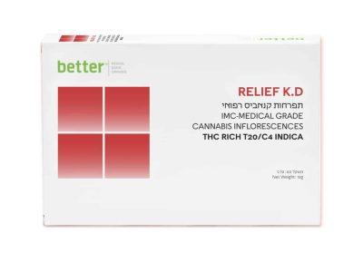 תפרחת RELIEF K.D T20/C4