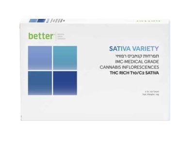 תפרחת SATIVA VARIETY T10/C2