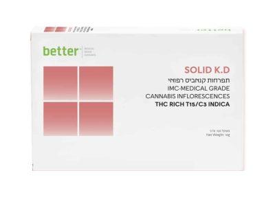 תפרחת SOLID K.D T15/C3