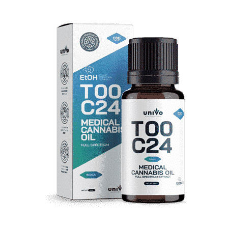 שמן יוניבו T0/C24 מיצוי אתנול אינדיקה