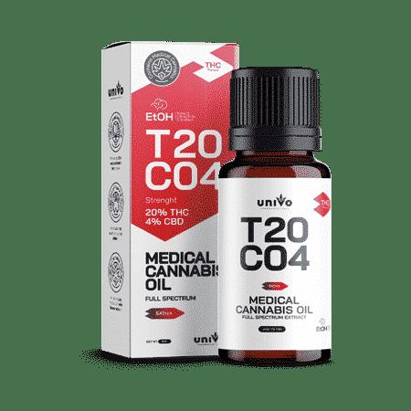 שמן יוניבו T20/C4 מיצוי אתנול סאטיבה