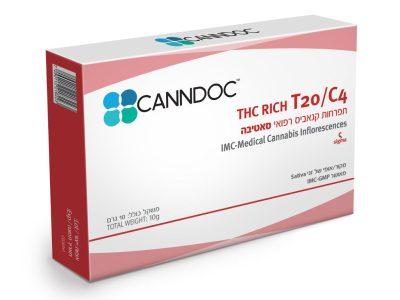 אריזת תפרחת קנאביס סיגמא SIGMA קנדוק טילריי - סאטיבה T20/C4
