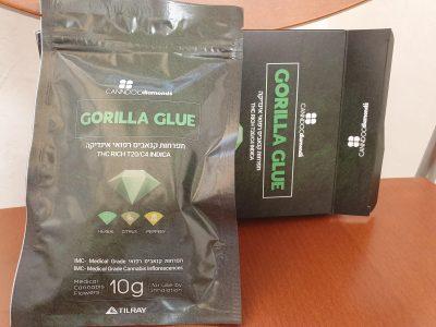 תפרחת גורילה גלו (Gorilla Glue) - דיאמונדס - אינדיקה T20/C4