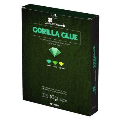 תפרחת גורילה גלו (Gorilla Glue) - סדרת דיימונדז (Diamonds) - אינדיקה T20/C4