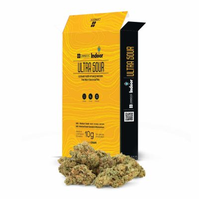 תפרחת אולטרה סאוור (Ultra Sour) - סאטיבה T20/C4 - אינדור