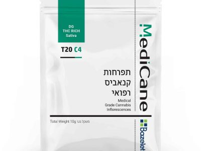 תפרחת קנאביס דיג'י (DG) - סאטיבה T20/C4 - מדיקיין (Medicane)