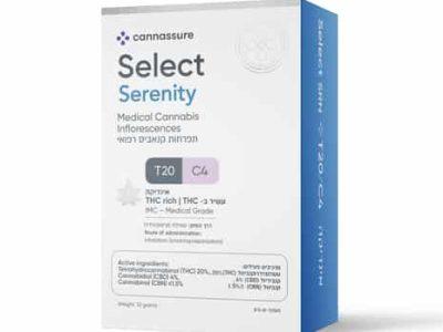 סרניטי (Serenity) - אינדיקה T20/C4 - סלקט