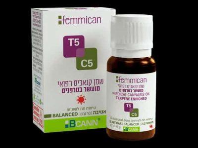 שמן פמיקאן (Femmican) סאטיבה T5/C5