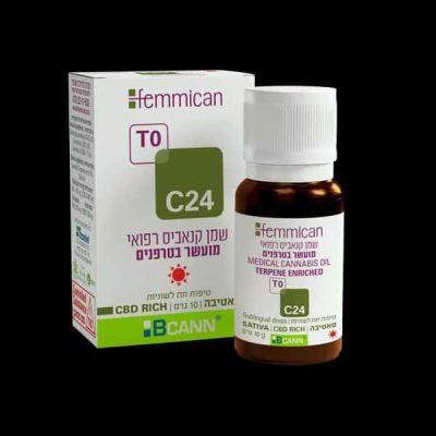 שמן פמיקאן (Femmican) סאטיבה T0/C24