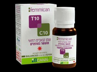 שמן פמיקאן (Femmican) סאטיבה T10/C10