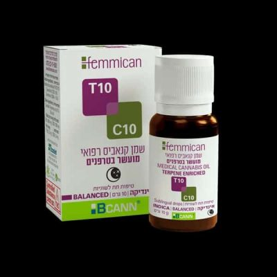 שמן פמיקאן (Femmican) אינדיקה T10/C10