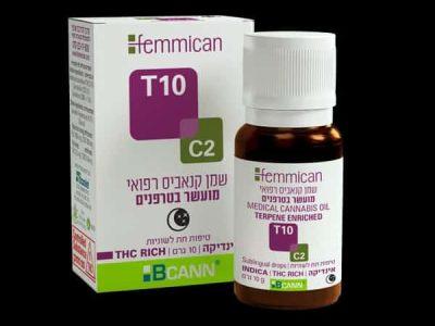 שמן פמיקאן (Femmican) אינדיקה T10/C2