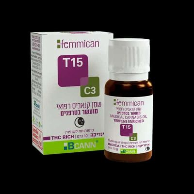 שמן פמיקאן (Femmican) אינדיקה T15/C3