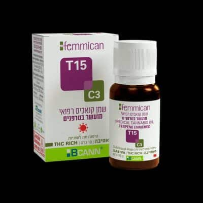שמן פמיקאן (Femmican) סאטיבה T15/C3
