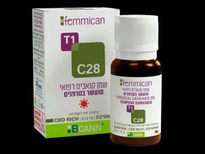 שמן פמיקאן (Femmican) סאטיבה T1/C28