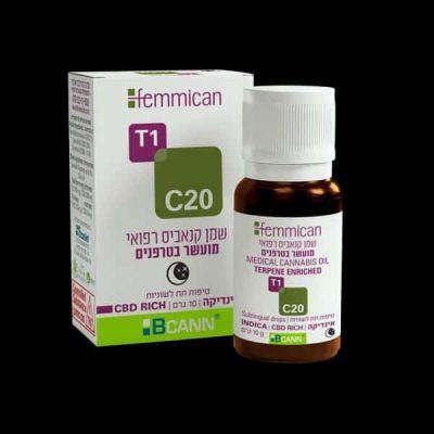 שמן פמיקאן (Femmican) אינדיקה T1/C20