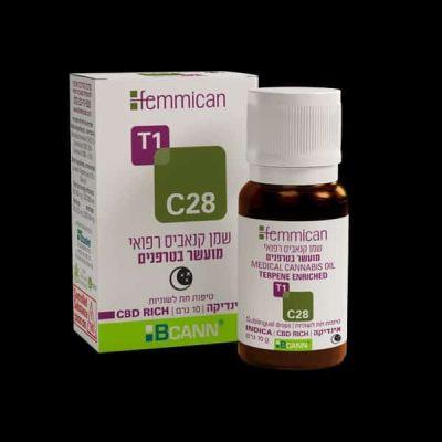 שמן פמיקאן (Femmican) אינדיקה T1/C28