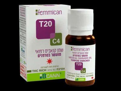 שמן פמיקאן (Femmican) סאטיבה T20/C4
