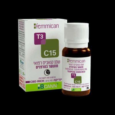 שמן פמיקאן (Femmican) אינדיקה T3/C15