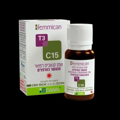 שמן פמיקאן (Femmican) סאטיבה T3/C15