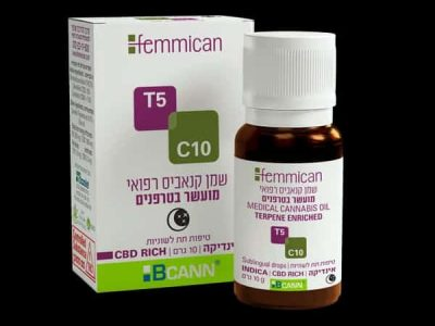 שמן פמיקאן (Femmican) אינדיקה T5/C10