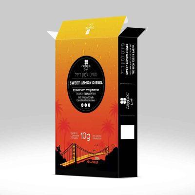 אריזת סוויט למון דיזל (Lemon Diesel) - סאטיבה T20/C4