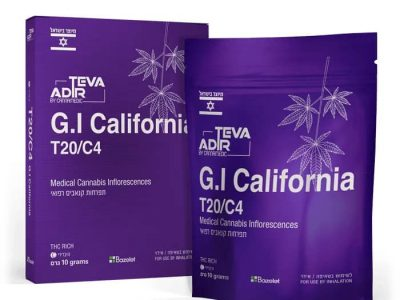 ג'י איי קליפורניה (G.I California) - היבריד T20/C4 - טבע אדיר קנאמדיק (קנאביס סגול)