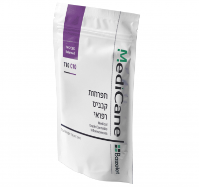 תפרחת סאטיבה T10/C10 - מדיקיין