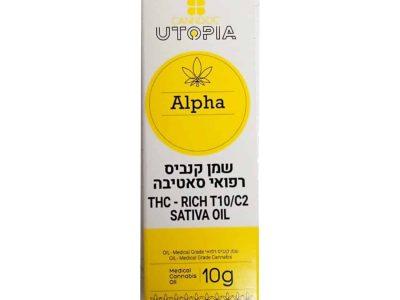 שמן אלפא אוטופיה T10