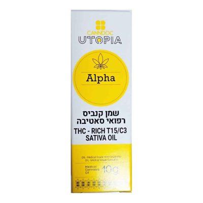 שמן אלפא אוטופיה T15