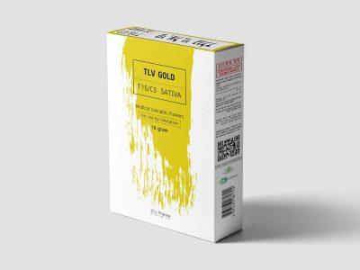 טי.אל.וי גולד (TLV Gold) - סאטיבה - T15/C3