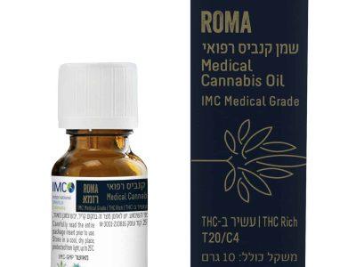 שמן רומא (Roma Oil) - אינדיקה T20/C4